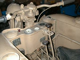 Kettenkrad dashboard, early version 1942