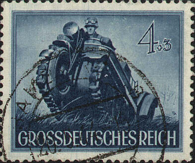 Kettenkrad Stamp from 1944